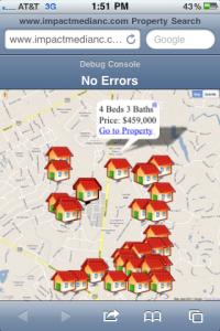 Real Estate Mobile Website IDX