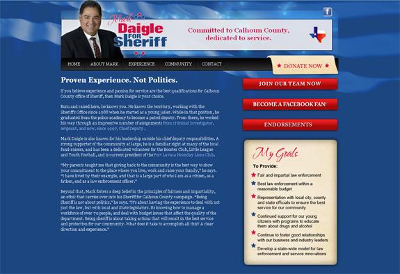 Campaign Websites Wilmington NC