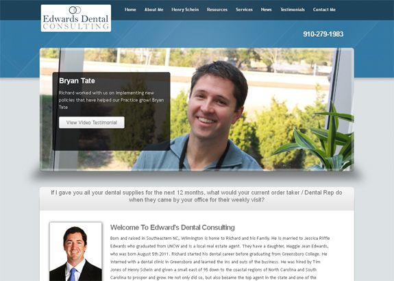 Dentist Website Wilmington NC