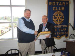 Brian Tucker - Rotary Meeting