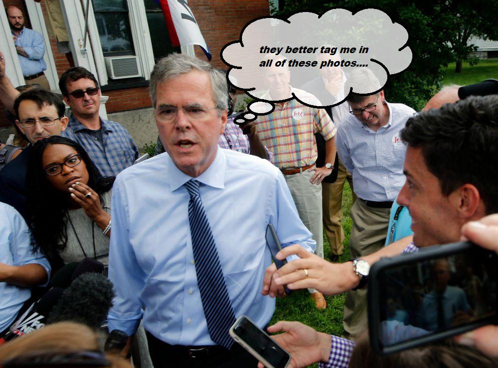 Follow Jeb Bush on Instagram