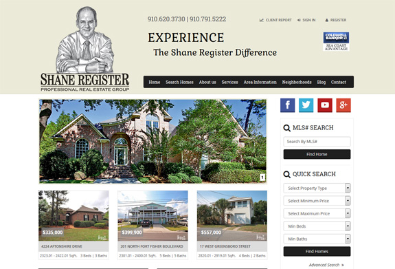 Responsive Real Estate Web Design