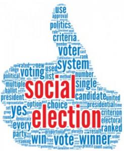Social Media Presidential Election